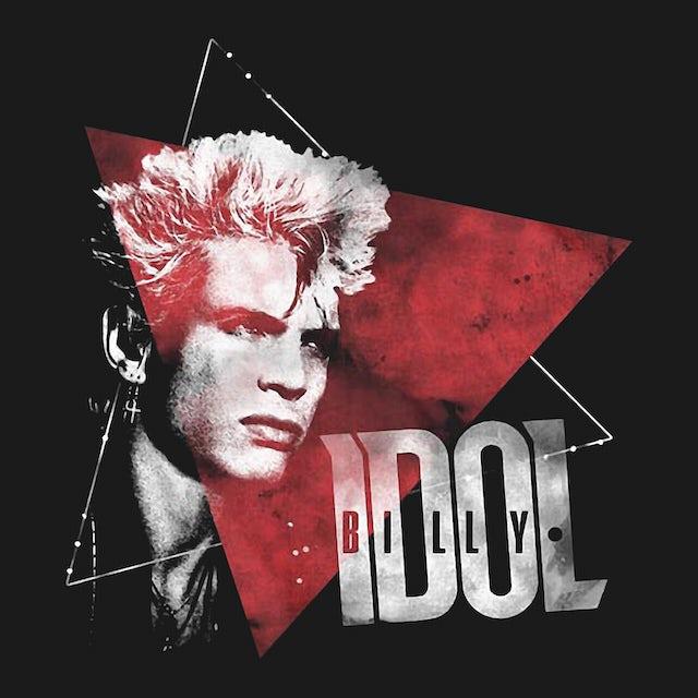 Billy Idol T-Shirt   Triangle Pattern Billy Idol Shirt