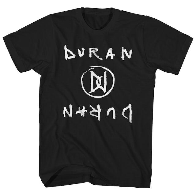 Duran Duran T-Shirt | DD Mirror Logo Duran Durant Shirt