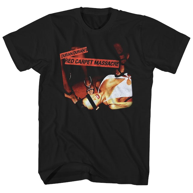 Duran Duran T-Shirt | Red Carpet Massacre Album Art Duran Duran Shirt