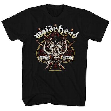 Motorhead T-Shirt | Sword & Spade Logo Motorhead Shirt