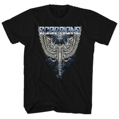 Scorpions T-Shirt | Angel Logo Scorpions Shirt