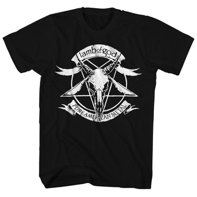 Lamb of God T-Shirt | Pure American Metal Lamb of God Shirt