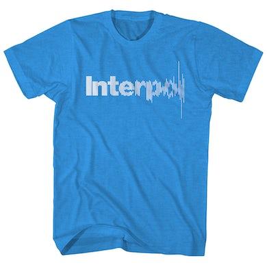 Interpol T-Shirt | Soundwave Logo Interpol Shirt