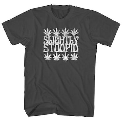 Slightly Stoopid T-Shirt   Rasta Leaves Slightly Stoopid Shirt
