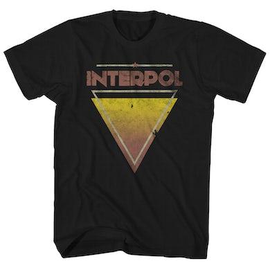 Interpol T-Shirt | Triangle Logo Interpol Shirt