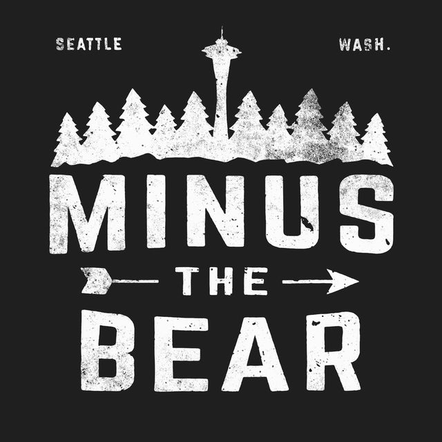Minus The Bear T-Shirt | Seattle Silhouette Minus The Bear Shirt