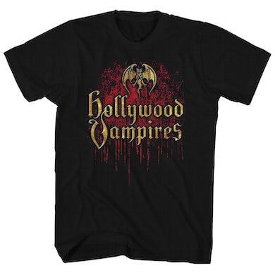 Hollywood Vampires T-Shirt | Official Logo Hollywood Vampires Shirt