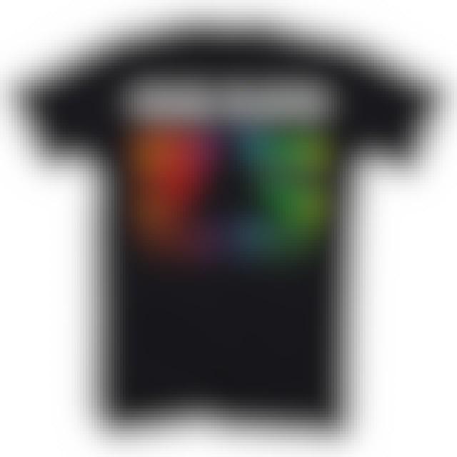 Pink Floyd T-Shirt   Prism Rainbow Gradient Pink Floyd Shirt