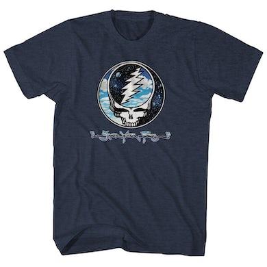 Grateful Dead T-Shirt | Steal Your Face Sky & Space Grateful Dead Shirt
