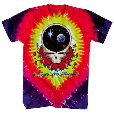 Grateful Dead T-Shirt | Space Your Face Tie Dye Grateful Dead Shirt