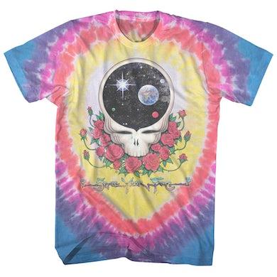 Grateful Dead T-Shirt | Vintage Space Your Face Tie Dye Grateful Dead Shirt