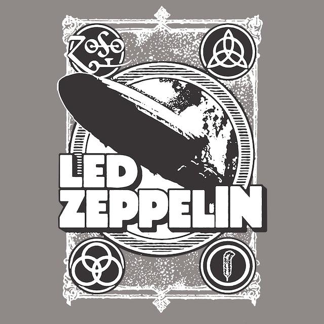 Led Zeppelin T-Shirt | ZOSO Logos Tie Dye Led Zeppelin Shirt