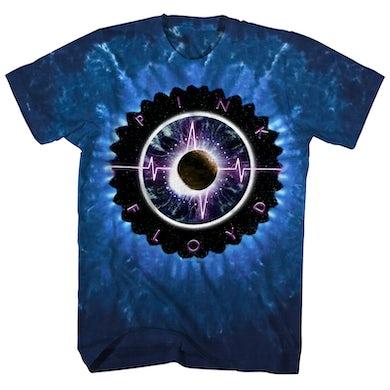 Pink Floyd T-Shirt | Pulse Album Art Tie Dye Pink Floyd Shirt