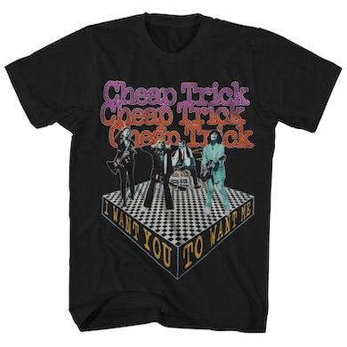 Cheap Trick T-Shirt | Want You To Want Me Cheap Trick Shirt