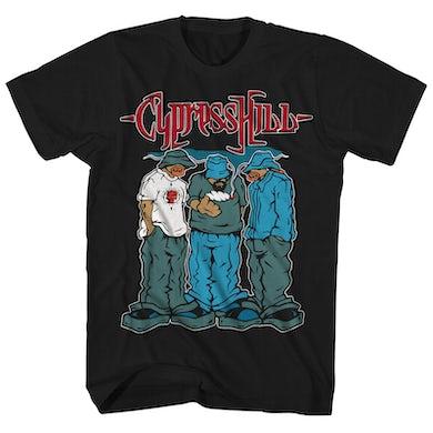 Cypress Hill T-Shirt | Rolled Up Cypress Hill Shirt