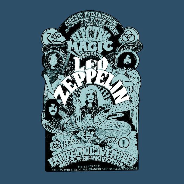 Led Zeppelin T-Shirt | Electric Magic Tie Dye Led Zeppelin Shirt