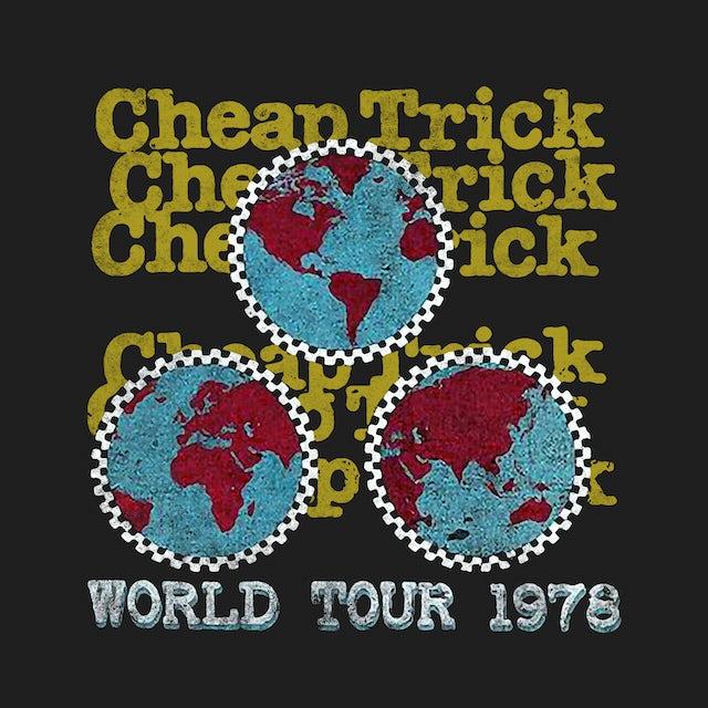 Cheap Trick T-Shirt | World Tour '78 Cheap Trick Shirt (Reissue)