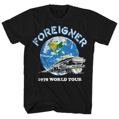 Foreigner T-Shirt | World Tour '78 Foreigner Shirt (Reissue)