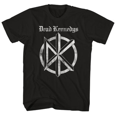 T-Shirt | Distressed Old English Logo Dead Kennedys Shirt