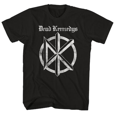 Dead Kennedys T-Shirt | Distressed Old English Logo Dead Kennedys Shirt