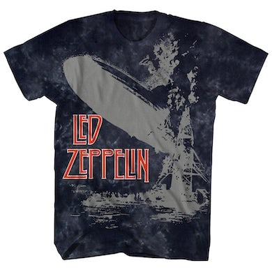 Led Zeppelin T-Shirt | Debut Album Art Tie Dye Led Zeppelin Shirt