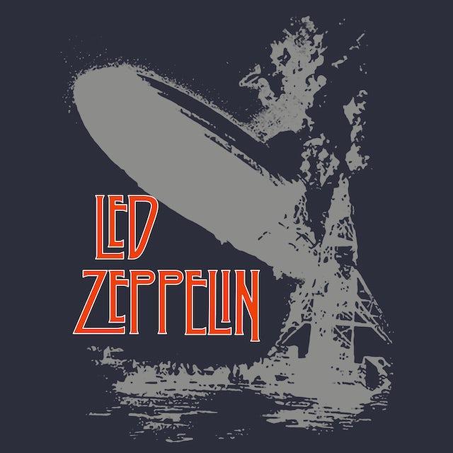 Led Zeppelin T-Shirt   Debut Album Art Tie Dye Led Zeppelin Shirt