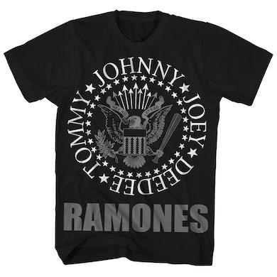 T-Shirt | Classic Logo Ramones Shirt