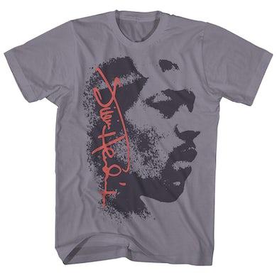 Jimi Hendrix T-Shirt | Signature Profile Jimi Hendrix Shirt