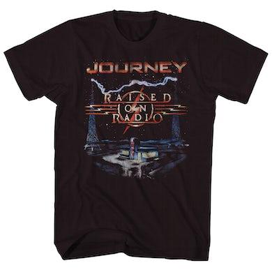 Journey T-Shirt   Raised On The Radio Album Cover Art Journey Shirt