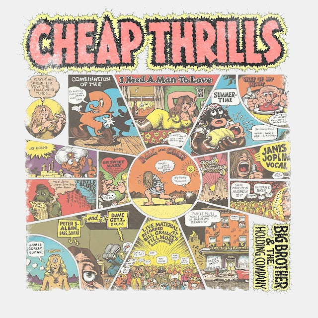 Big Brother And The Holding Company T-Shirt   Cheap Thrills Album Big Brother And The Holding Company Shirt