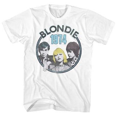 Blondie T-Shirt | 1974 Group Photo Blondie Shirt