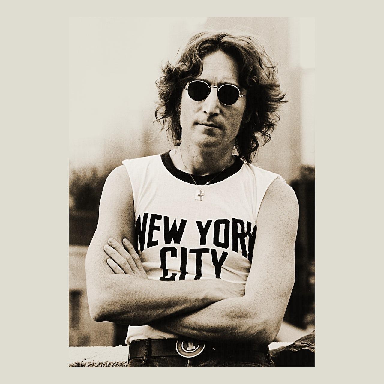 John Lennon T Shirt New York City Tee John Lennon Shirt