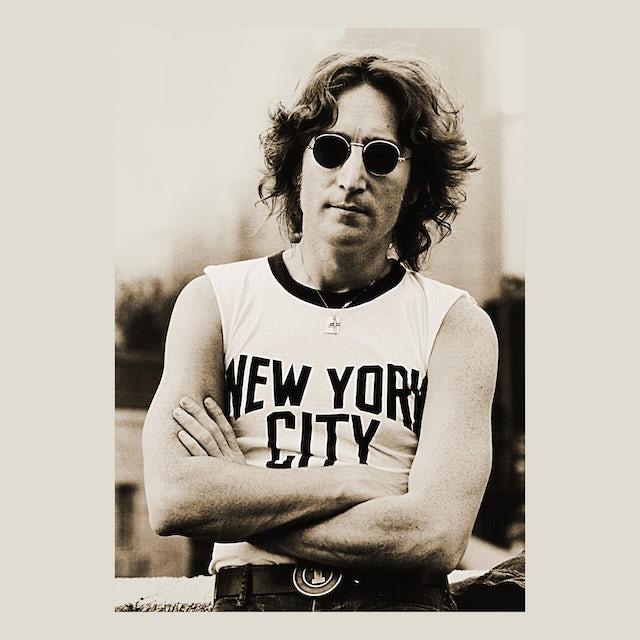 John Lennon T-Shirt | New York City Tee John Lennon Shirt