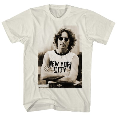John Lennon T-Shirt | New York City Tee John Lennon Shirt
