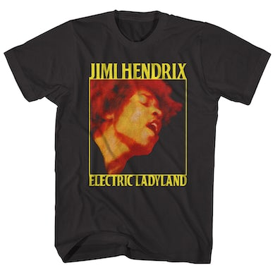 T-Shirt | Electric Ladyland Album Art Jimi Hendrix Shirt