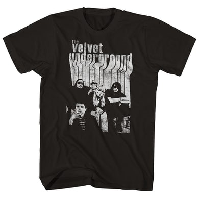 The Velvet Underground T-Shirt | Band Group Photo With Nico The Velvet Underground Shirt
