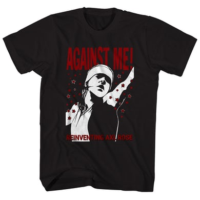 Against Me! T-Shirt | Reinventing Axl Rose Album Art Against Me! Shirt