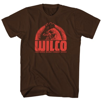 Wilco T-Shirt   Rising Early Since '94 Wilco Shirt