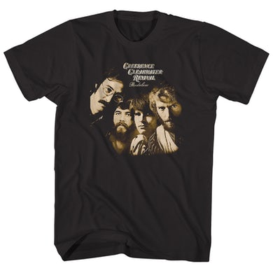 Creedence Clearwater Revival T-Shirt | Pendulum Album Art Creedence Clearwater Revival Shirt