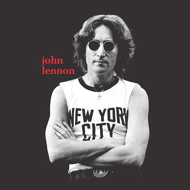 John Lennon T-Shirt | New York City Black & White Photo John Lennon Shirt