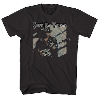 Stevie Ray Vaughan T-Shirt | Texas Flood Album Art Stevie Ray Vaughan Shirt