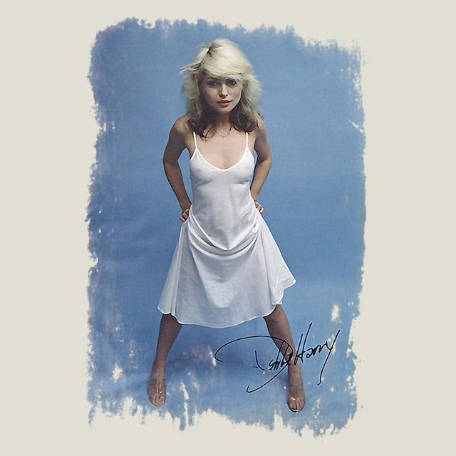 Debbie Harry T-Shirt | White Dress Photo Signature Debbie Harry Shirt