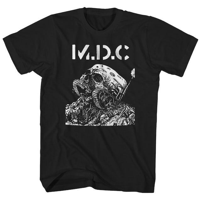 MDC T-Shirt   Skull Tank MDC Shirt