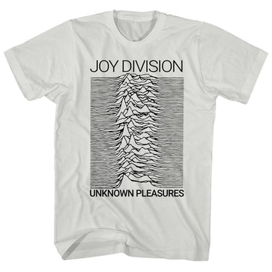 T-Shirt | Unknown Pleasures White Album Art Joy Division Shirt