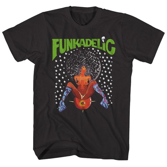 Funkadelic T-Shirt | Afro Girl Funkadelic T-Shirt