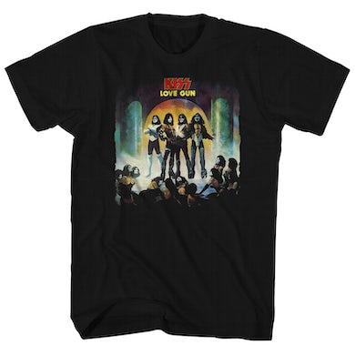 Kiss T-Shirt | Love Gun Album Art Kiss Shirt