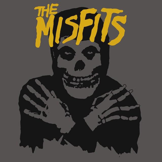 The Misfits T-Shirt | Classic Skull Yellow Logo Misfits Shirt