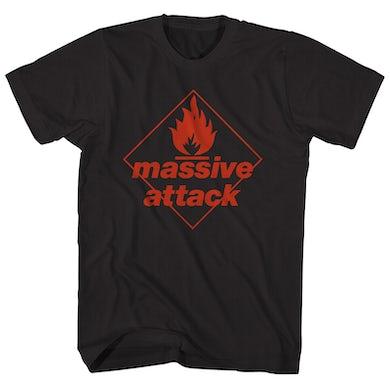 Massive Attack T-Shirt   Blue Lines Album Art Massive Attack Shirt