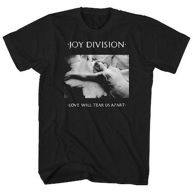 Joy Division T-Shirt | Love Will Tear Us Apart Joy Division Shirt