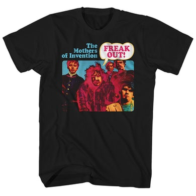 Frank Zappa T-Shirt | The Mothers Of Invention Freak Out! Album Art Frank Zappa Shirt